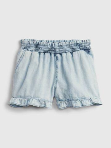 מכנסי ג'ינס קצרים עם מלמלה / 12M-5Y של GAP