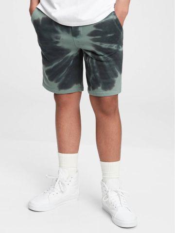 מכנסיים קצרים בהדפס טאי דאי / TEEN של GAP