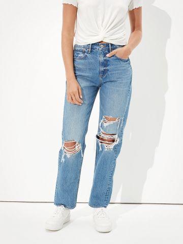 ג'ינס עם עיטור קרעים Extra Fit של AMERICAN EAGLE