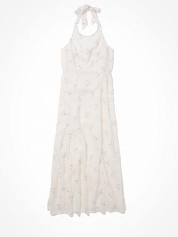 שמלת מידי קולר בהדפס פרחים / נשים של AMERICAN EAGLE