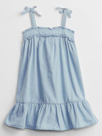 שמלת ג'ינס בסגנון פפלום / 12M-5Y של GAP