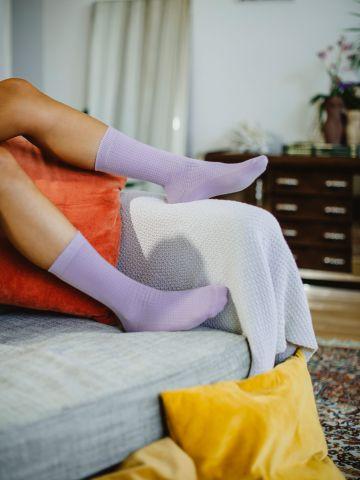 גרביים ארוכות בטקסטורה / נשים של DOIY