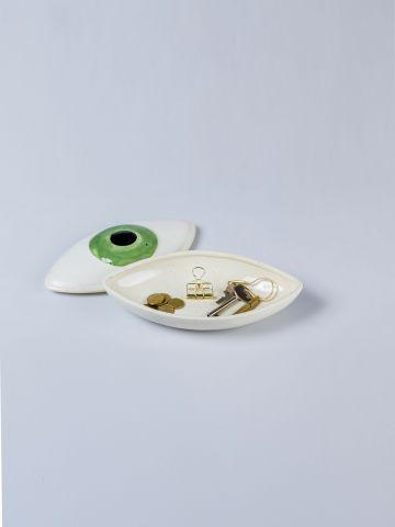כלי אחסון קרמיקה בצורת עין של DOIY