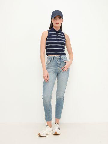 ג'ינס Mom בגזרה גבוהה של URBAN OUTFITTERS