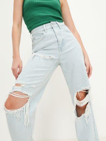 ג'ינס בשילוב קרעים של URBAN OUTFITTERS
