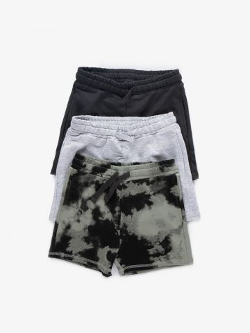 מארז 3 מכנסי ברמודה בצבעים שונים / 2Y-12Y של MINENE