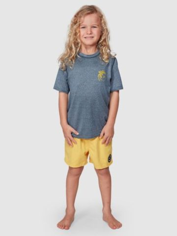 חולצה גלישה מלאנז' עם לוגו של BILLABONG