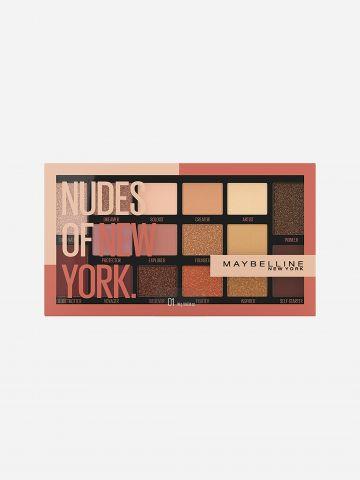 פלטת צלליות Nudes Of New York של MAYBELLINE