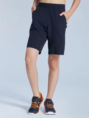 מכנסי ספורט קצרים ונושמים דגם w500 / בנים של DECATHLON