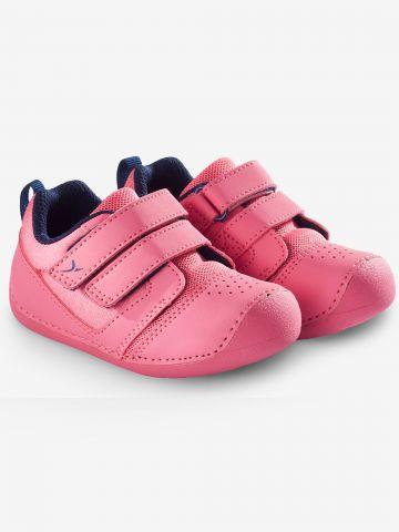 נעלי 500 i learn להתעמלות / בייבי בנות של DECATHLON