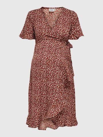 שמלת מיני בהדפס פרחים לנשים בהריון / נשים של ONLY