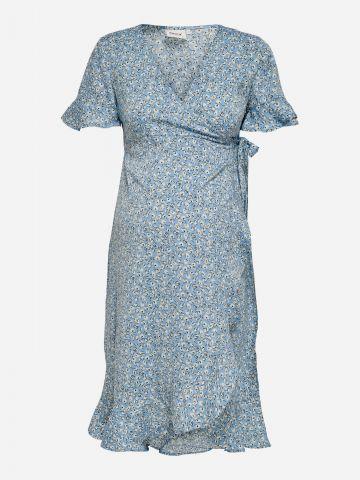 שמלת מיני מעטפת בהדפס פרחים לנשים בהריון / נשים של ONLY