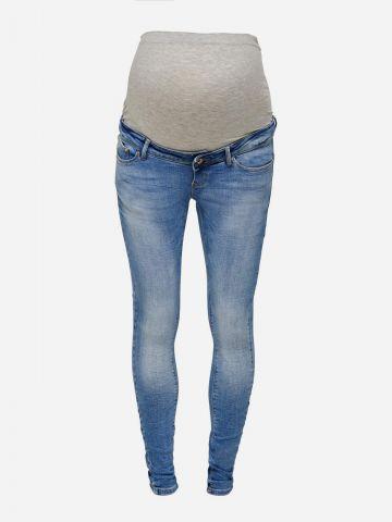 ג'ינס סקיני בגזרה גבוהה לנשים בהריון / MATERNITY של ONLY
