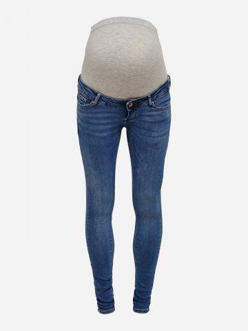 ג'ינס סקיני ארוך בשטיפה כהה לנשים בהריון / נשים של ONLY