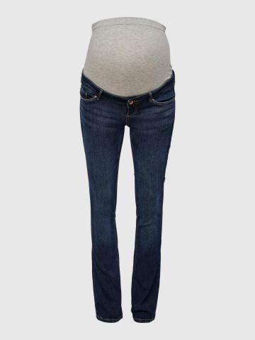 ג'ינס ארוך בגזרה מתרחבת לנשים בהריון / נשים של ONLY