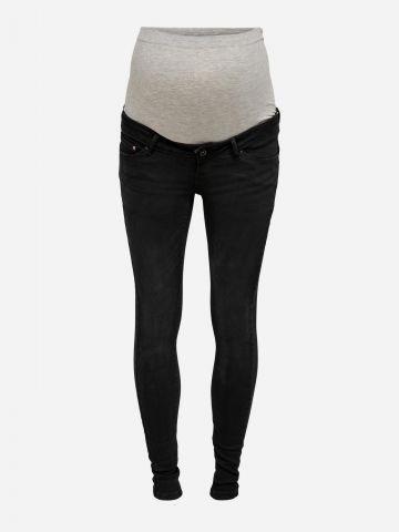 ג'ינס סקיני ארוך לנשים בהריון / נשים של ONLY
