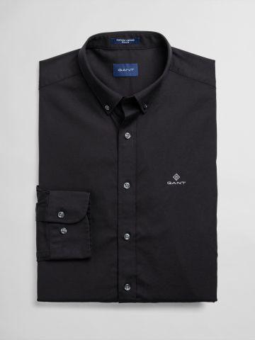 חולצה מכופתרת עם רקמת לוגו / גברים של GANT