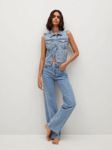 ג'ינס מתרחב עם סיומת פרומה של MANGO
