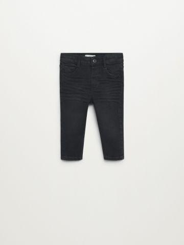 מכנסי ג'ינס Slim-fit ארוכים / 9M-4Y של MANGO
