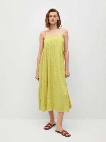 שמלת מידי בטקסטורה של MANGO
