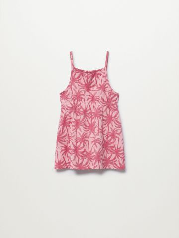 שמלה בהדפס דקלים / 9M-5Y של MANGO