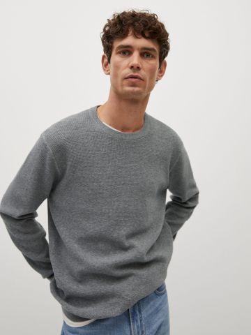 סוודר חלק בטקסטורה של MANGO