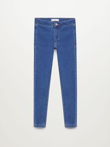 ג'ינס ארוך בגזרת Super Skinny / בנות של MANGO