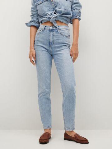 ג'ינס גבוה בגזרת Mom של MANGO