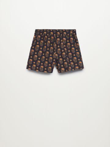 מכנסיים קצרים בהדפס / בנות של MANGO