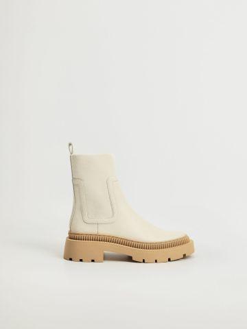 מגפיים עם סוליית פלטפורמה / נשים של MANGO