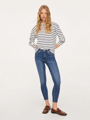 ג'ינס סקיני בגזרה גבוהה של MANGO