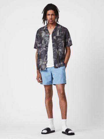 מכנסי בגד ים עם רקמת לוגו של ALL SAINTS