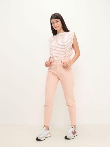 מכנסי ג'ינס בגזרה גבוהה של YANGA