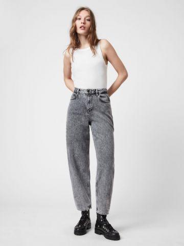 ג'ינס ווש בגזרה ישרה של ALL SAINTS