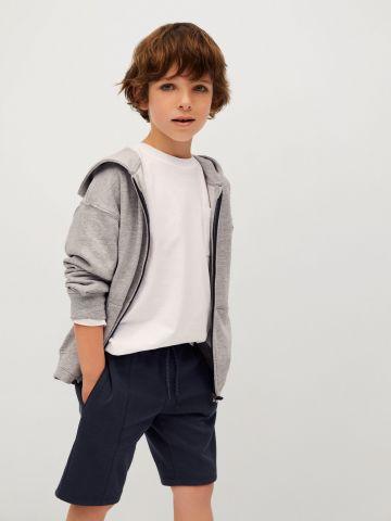 מכנסי ברמודה קצרים של MANGO