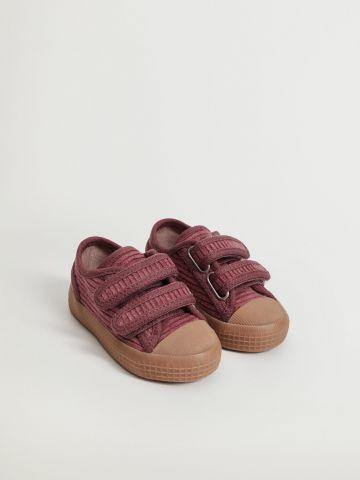 נעלי קורדרוי עם סקוצ'ים / בייבי בנות של MANGO