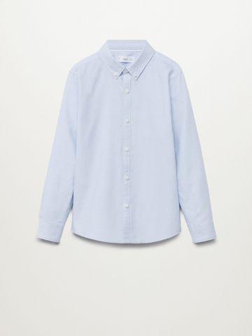 חולצת אוקספורד מכופתרת / בנים של MANGO
