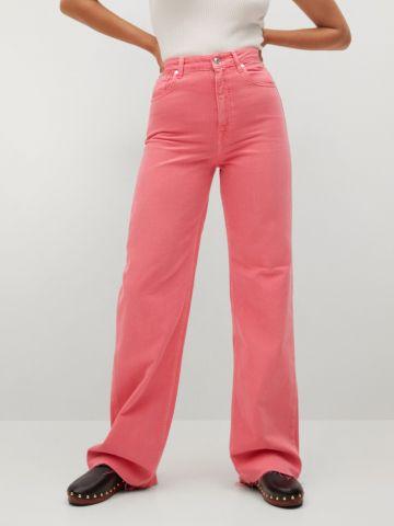 מכנסי ג'ינס ארוכים של MANGO