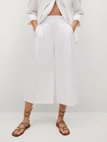 מכנסיים ארוכים מתרחבים של MANGO