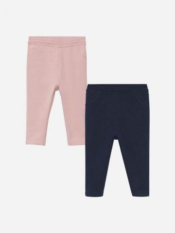 מארז 2 מכנסי טייץ בצבעים שונים / 9M-5Y של MANGO