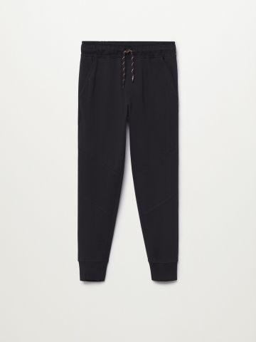 מכנסי טרנינג בסיומת גומי / בנים של MANGO