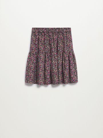 חצאית קצרה בהדפס פרחים / בנות של MANGO