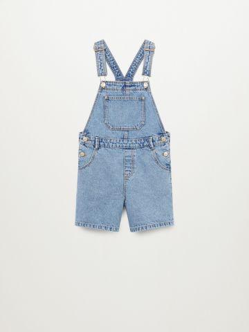 אוברול ג'ינס קצר של MANGO