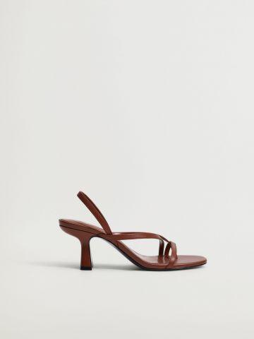 נעלי עקב עם רצועות דקות / נשים של MANGO