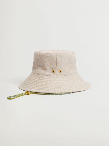 כובע באקט עם תפרים מודשים / נשים של MANGO