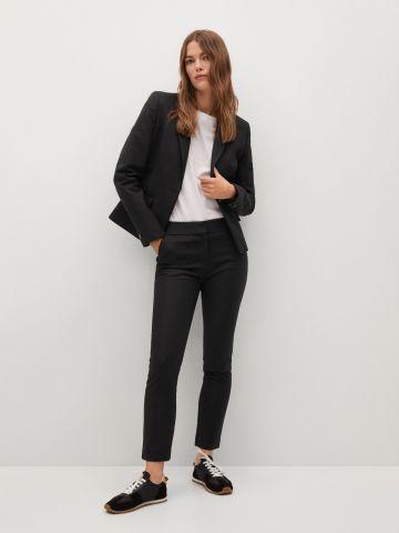 מכנסי חליפה בגזרת Slim של MANGO