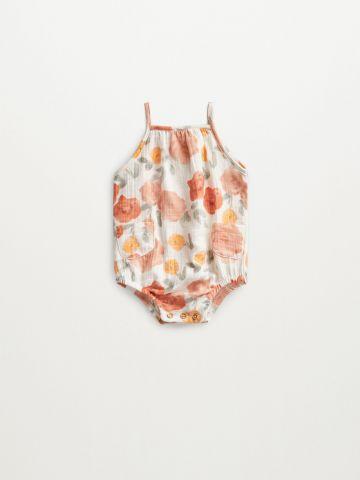 בגד גוף בהדפס פרחים / 1M-12M של MANGO