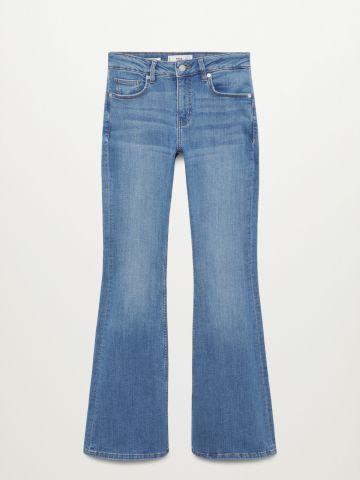 ג'ינס מתרחב בגזרה גבוהה של MANGO