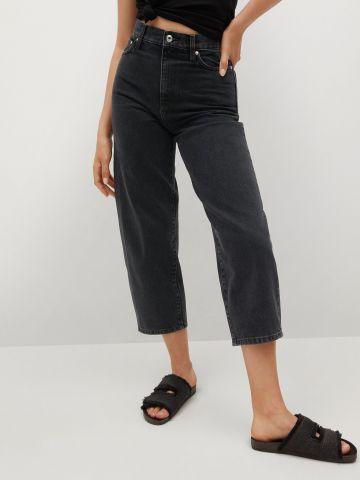 ג'ינס בגזרה גבוהה של MANGO