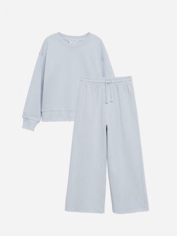 סט סווטשירט ומכנסיים ארוכים / בנות של MANGO